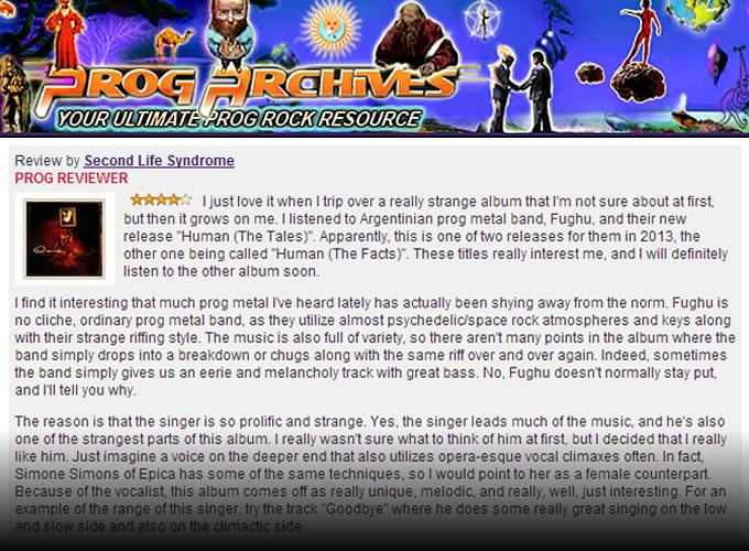 Prog Argchives Fughu review